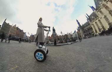 Airwheel S5 2 wheeled electric scooter